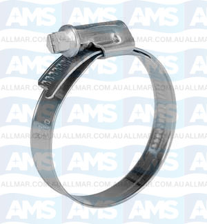 130-150mm Hose Clamp W4 12mm Band With