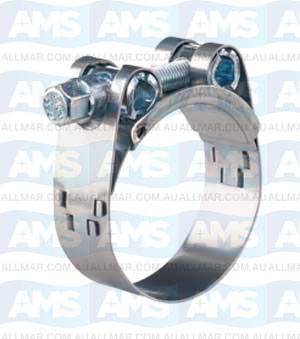 104-112mm Super Clamp W4 25mm Band With
