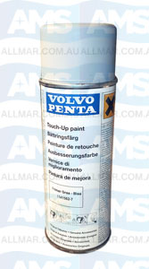 Volvo Penta Engine 'Touch-Up' Spray Paint (Primer Grey Blue) 400ml