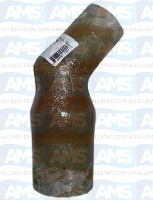 "3.00"" X 4.00"" X 45 Deg Reducer Elbow"