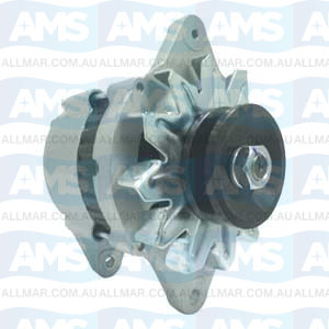 55 Amp/12 Volt, 1-Groove Pulley, Fits 129772-77200