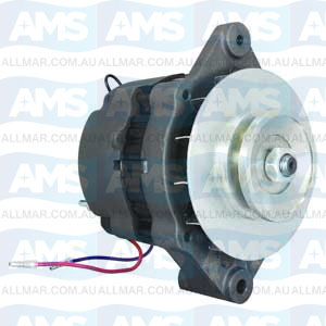 55 Amp/12 Volt, Bi-directional, 1-Groove Pulley Fits Mercrusier 817119A4