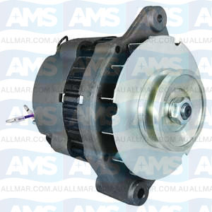 65 Amp/12 Volt, Bi-directional, 1-Groove Pulley, Fits 805884t
