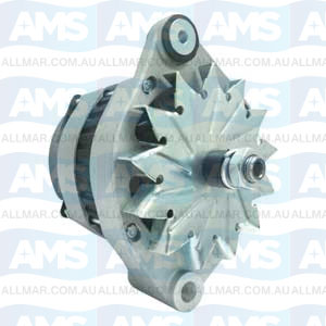 55 Amp/24 Volt, CW, without Pulley, Fits Volvo 1624090