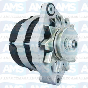 55 Amp/12 Volt, CW, without Pulley, Fits Volvo 834625-6