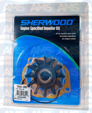15000K Sherwood Impeller
