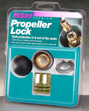"McGard 74052 Marine Propeller Lock Set (5/8""-11 Thread Size) - Johnson/Evinrude, 40 - 140HP - Set of"