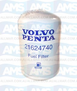 Volvo Penta Fuel Filter S/S from 3840335 No Sensor In Base