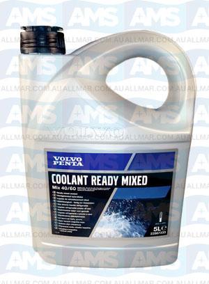 Volvo Coolant Green 5 Litre Concentrate