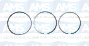 Volvo Penta Piston Set Ring-Set (Lower, Centre & Upper Ring) - 151A O-11369