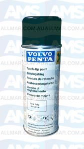 Volvo Penta Engine 'Touch-Up' Spray Paint (Dark Grey / Charcoal) 400ml