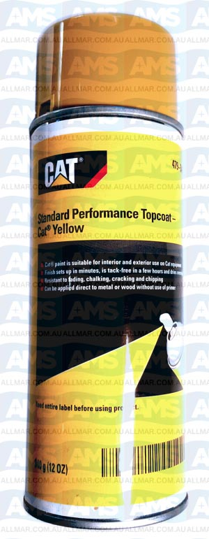 CAT Engine Spray Paint Standard Performance Topcoat ( YELLOW )