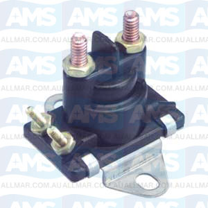 12 Volt, 4-Terminal, Isolated Base Solenoid, Fits 89-818864T
