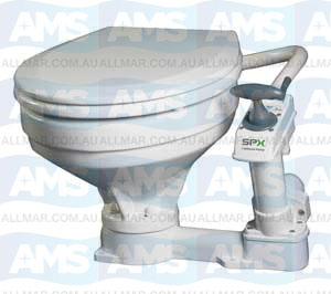 AquaT  Comfort Manual Toilet