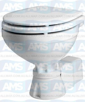 AquaT Toilet Silent Electric Compact 12V