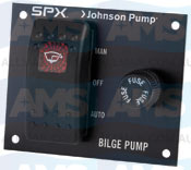 12V Bilge Pump 2 Way Panel Switch