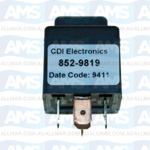 Tilt/Trim Relay - 12V, 40 Amp