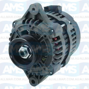 95 Amp/12 Volt, CW, 6-Groove Pulley, Fits Indmar,PCM 8600002