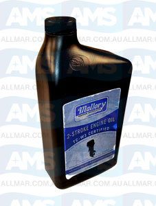 Mallory Marine 2-Stroke Engine Oil TC-W3 Certified 946ml