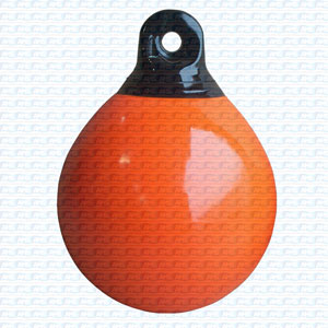 Dock Edge Inflatable Mooring Buoys Orange 36.8cm