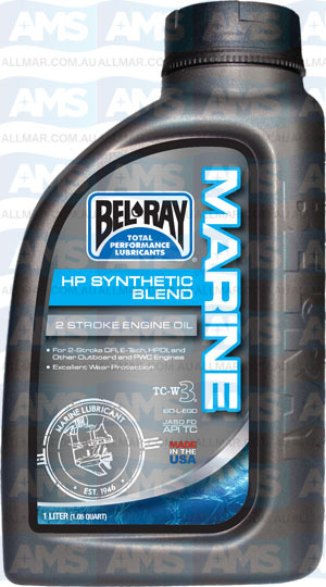 1 Litre Hp Synthetic Blend 2T TC-W3 (Marine Racing 2T Api-TC)