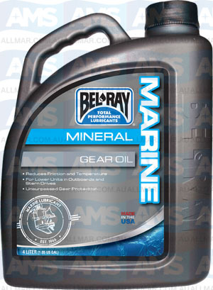 4 Litre Marine Mineral Gear Oil