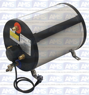 Boat Boiler Cylindrical 22L Enamel  500W, Suitable for horizontal or vertical installation.