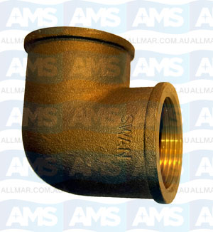 Bronze F/F Elbow 90 Deg  3/4""