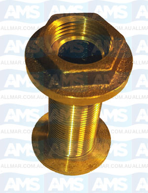 Bronze Skin Fitting 2 1/2""