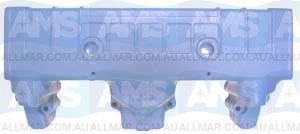 Chrysler Water Cooled Manifold For Model Years 1966 To 1972.