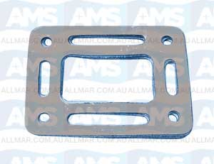Chrysler Riser Gasket For Raw Water Cooled Manifolds Open