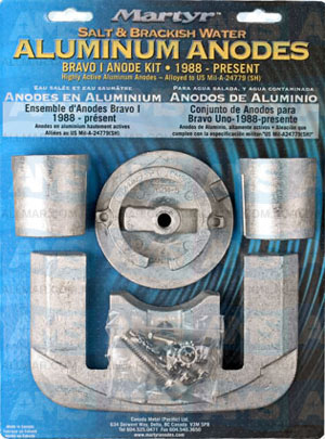 Mercury Bravo 1 Kit 1988-Present Alloy