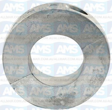 "2 1/2"" Shaft Zinc Donut Anode"