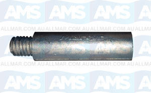 "Pencil Anode (5/16"" UNC x 54 L x 10 Diam)"