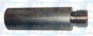 Scania Engine Anode Only D16X45-M12X1 Zinc