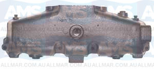 Mercruiser Small Block  Wet Joint V8 Water Cooled Exhaust Manifold.