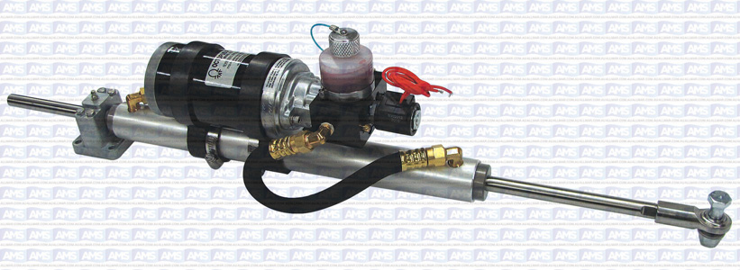 """38mm Bore Linear Drives (Sailboats) - 12"""" Stroke Mounted - 24 V (UP TO 60 FEET OR UP TO 33,000 LBS.)"""