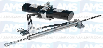 """45mm Bore Linear Dives (Sailboats) - Heavy Duty CRA Pump + Bore x 12"""" Stroke Cylinder – 24V (UP TO 63,800 LBS.)"""