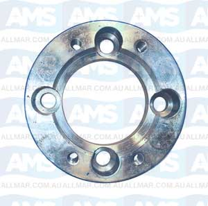 "Adapter Flange 4"" Volvo P30/60/80 Stepped Holes 21Mm Thick"