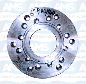 "Adapter Flange 6""  P110/140"