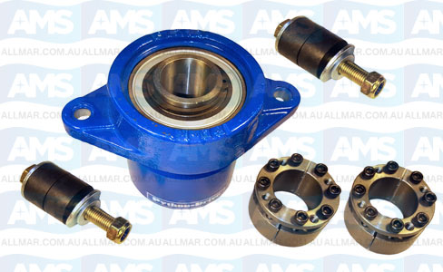 "1 1/2"" Thrust Bearing Unit And Clamp Coupling H 40X65Mm"