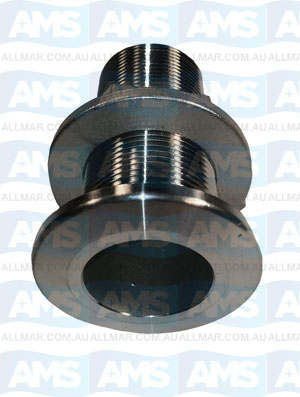 """316 Stainless Skin Fitting  1/2"""""""