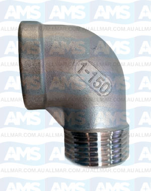 316 Stainless M&F Elbow 90Deg 1""