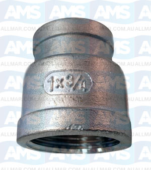 "316 Stainless Red Socket 3/4""X 1/2"""