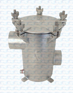 """1.5"""" BSP Thread SISIO Strainer with Clear Lid"""