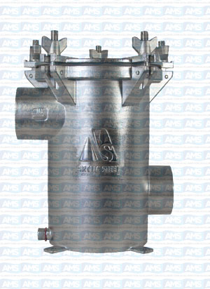 """2""""BSP Thread SISO Strainer with Solid Lid"""