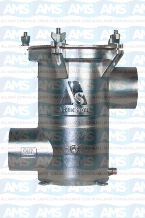 """3"""" BSP Thread SISO Strainer with Solid Lid"""