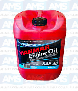 Yanmar Diesel Engine Oil Monograde SAE 40 20L